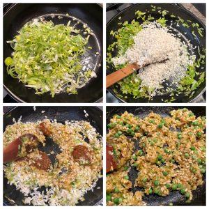 How to Make Vegan Leek and Pea Aranchini   Leek Vegan Recipe   Your Food Fantasy