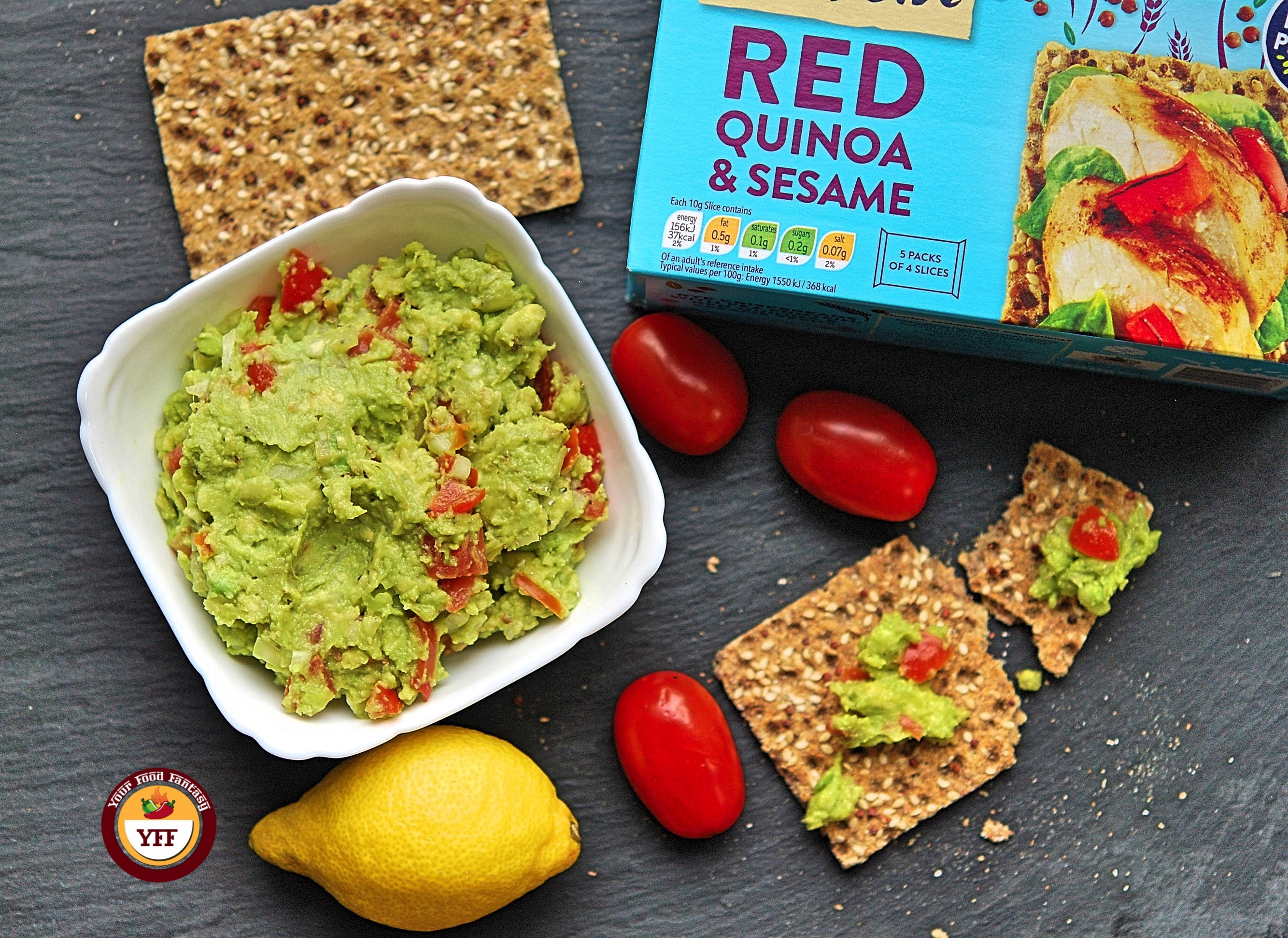 Ryvita Protien Red Quinoa & Sesame Review By YourFoodFantasy.com