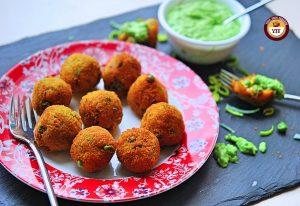 Vegan Leek and Pea Aranchini | Easy Leek Recipe | YourFoodFantasy.com
