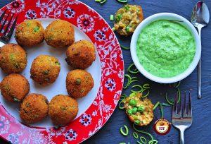 Vegan Leek and Pea Aranchini Recipe - Leek Recipes   Your Food Fantasy