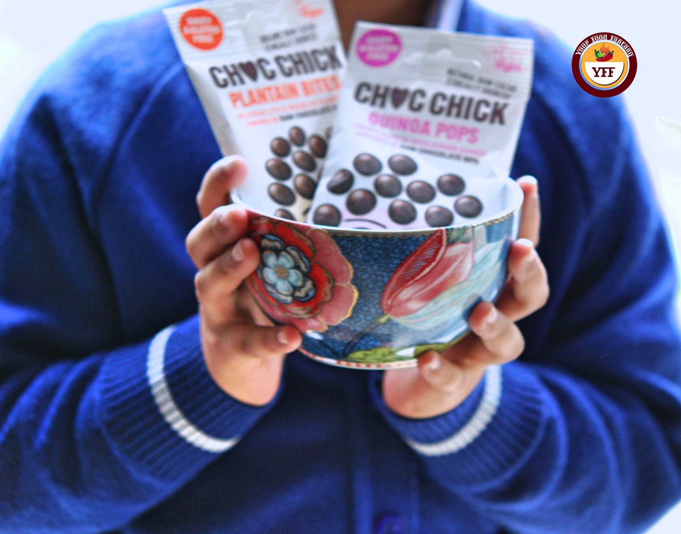 Choc Chick Quinoa and Plantian Bites review bby Your Food Fantasy