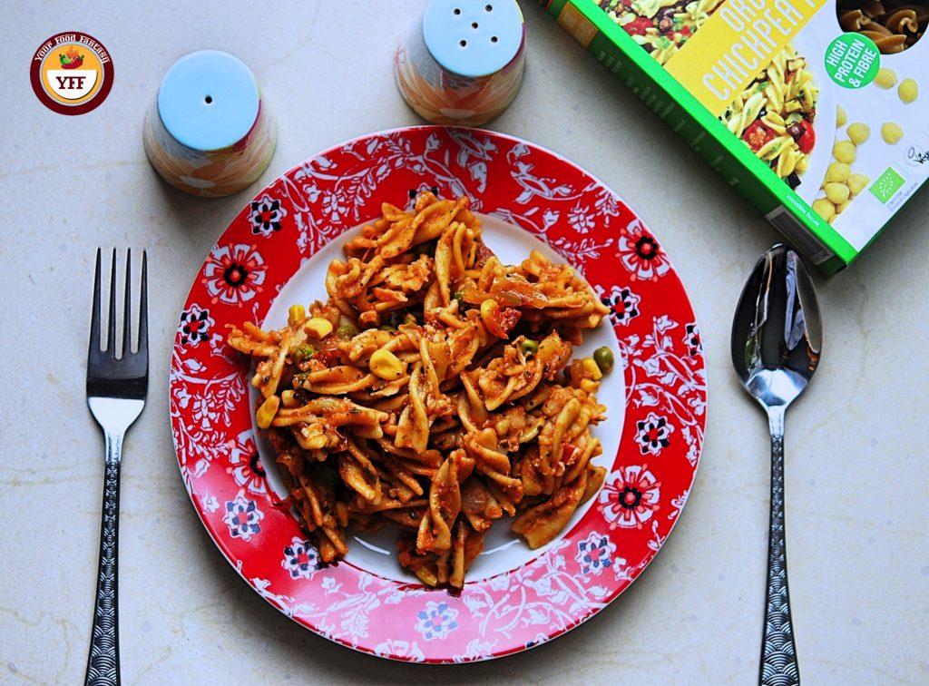 Explore Cuisine Organic Chickpea Fusilli Reveiw   Your Food Fantasy