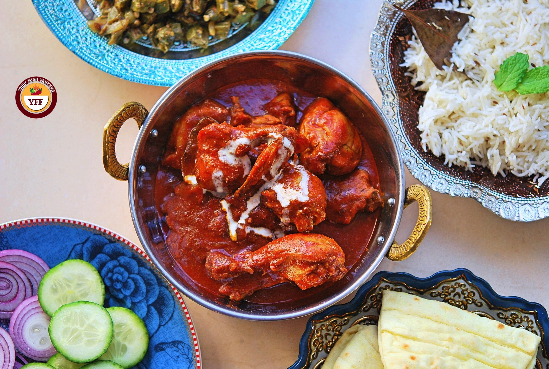 Ghee Roast Tandoori Chicken Recipe   YourFoodFantasy.com