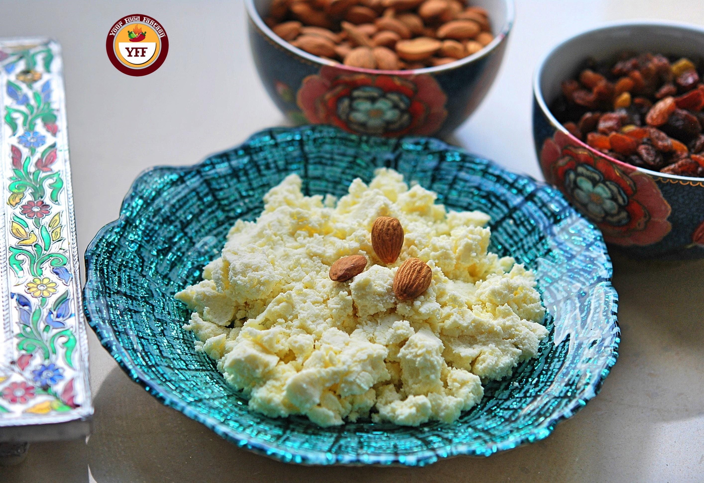 Instant Mawa Recipe using Ricotta Cheese  YourFoodFantasy.com