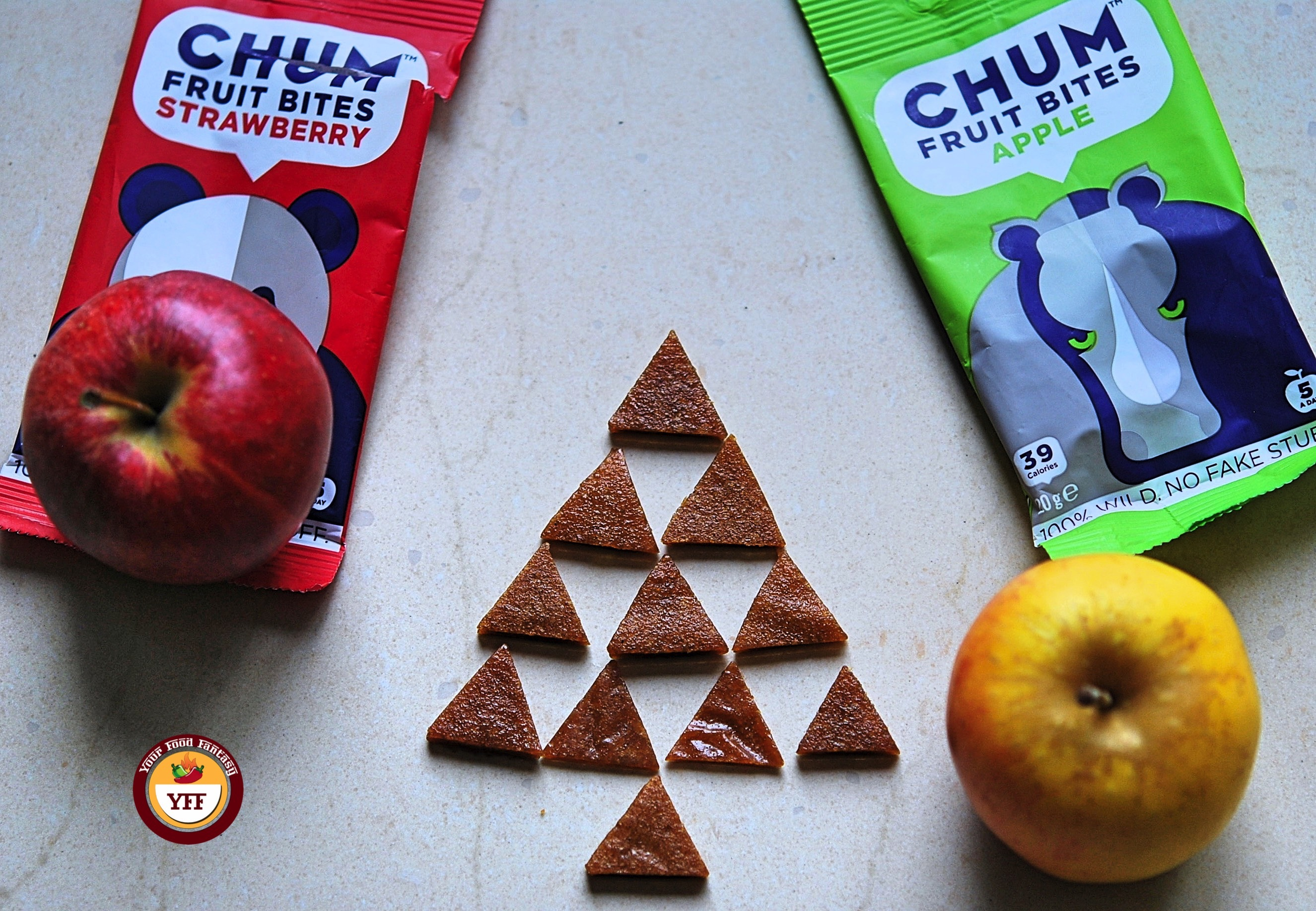 Chum Fruit Bites Review by YourFoodFantasy.com