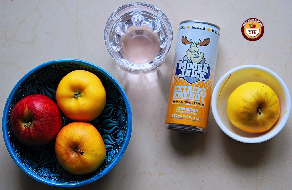Moose Juice Passion Fruit Review - Your Food Fantasy
