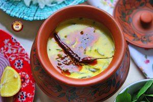 Easy Spinach Recipe   Palak Kadhi Recipe   Your Food Fantasy