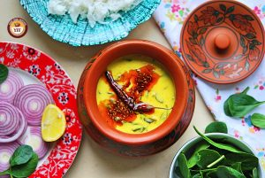 Easy Spinach Recipes   Palak Kadhi Recipe - Your Food Fantasy