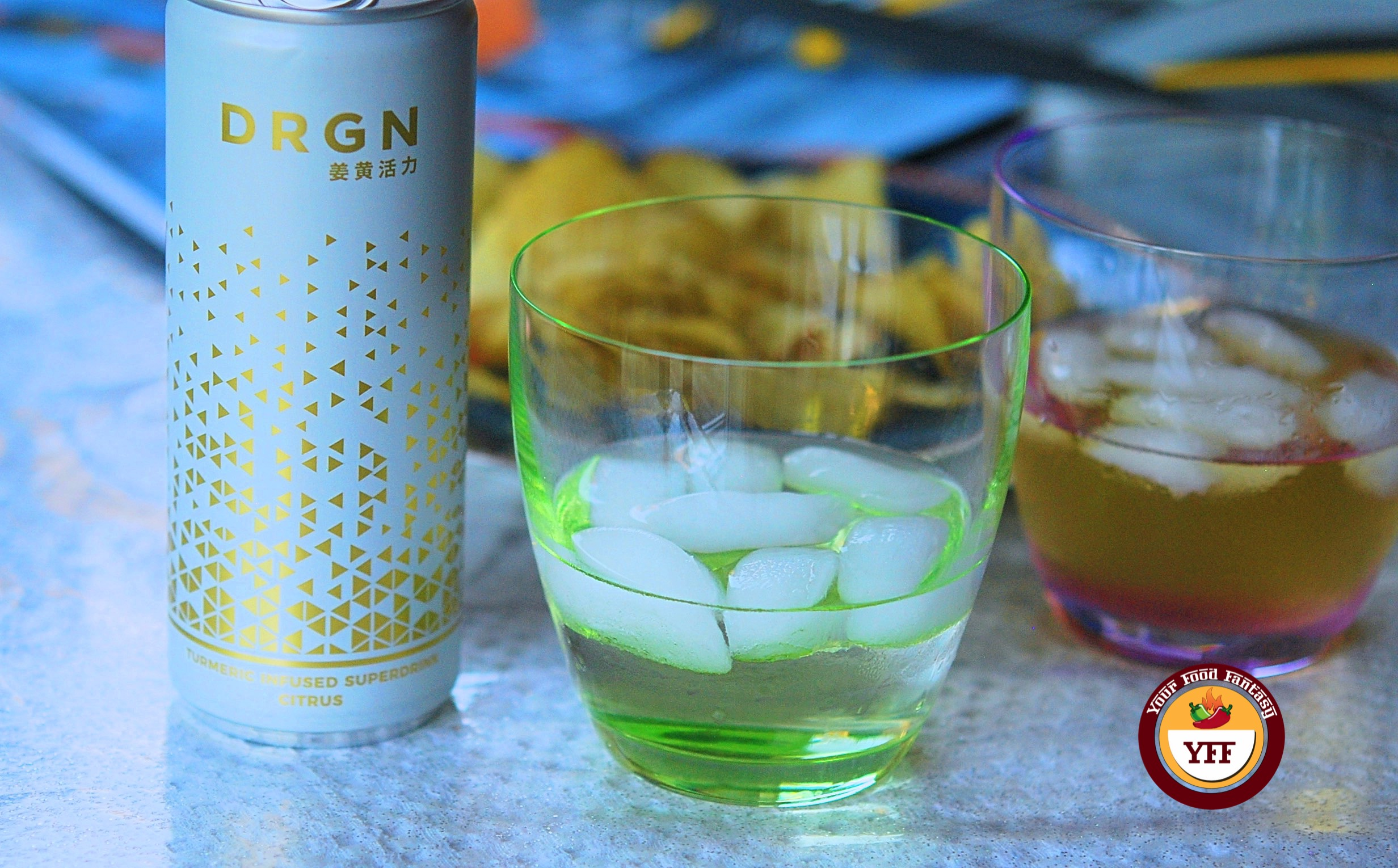 DRGN Superdrink review by Your Food Fantasy