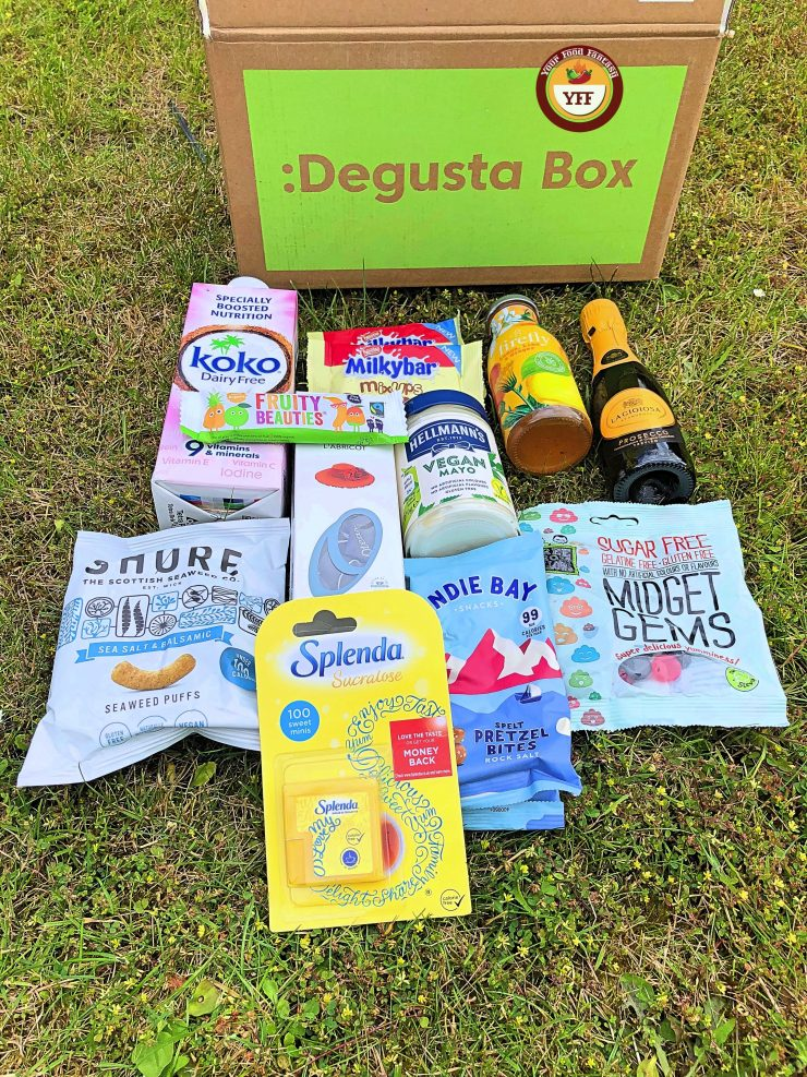 Degustabox May 2019 Box Review by YourFoodFantasy.com