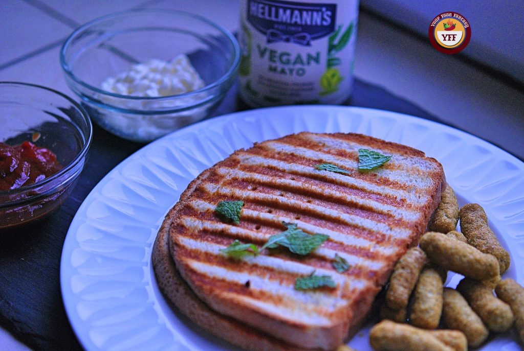 Hellmann's Vegan Mayo review by Your Food Fantasy