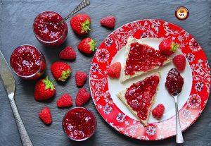 Homemade Strawberry Raspberry Jam Recipe   YourFoodFantasy.com