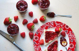 Raspberry and Strawberry Home made Jam Recipe - YourFoodFantasy.com