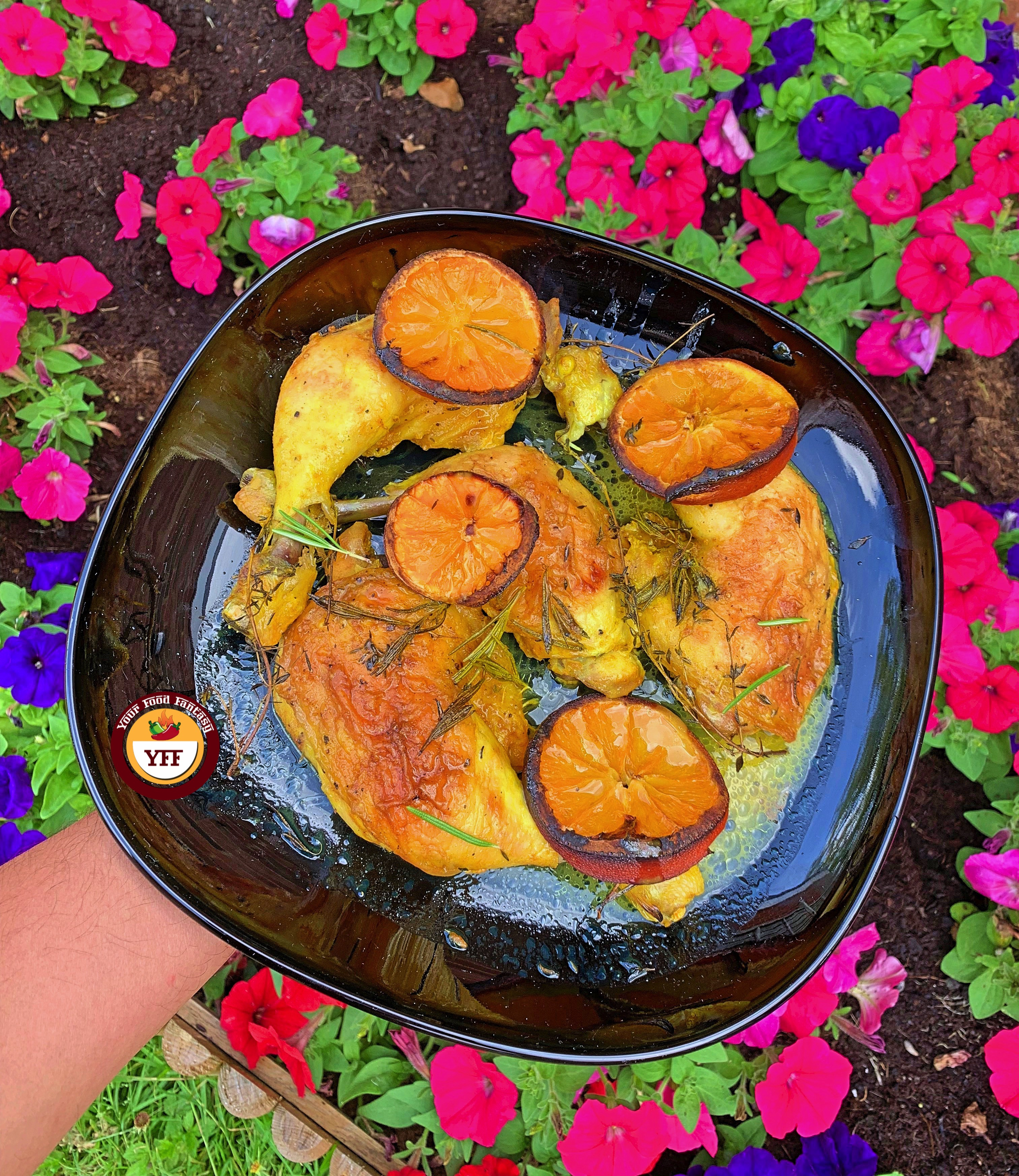 Rosemary and Thyme Chicken legs | Chicken Recipes | YourFoodFantasy.com