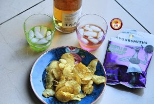 Savoursmiths Truffle and Rosemary Crisps review by Your Food Fantasy
