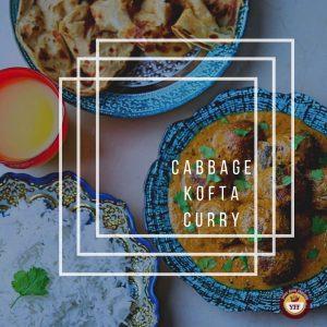 Cabbage Kofta Curry Recipe - A Kofta Curry
