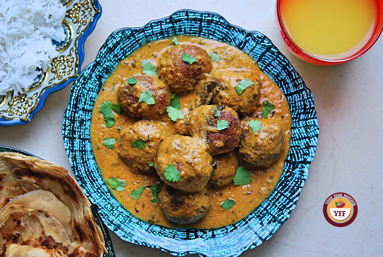 Homemade Kofta Curry - YourFoodFantasy.com
