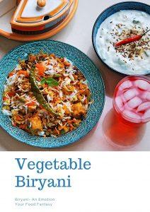 Vegetable Biryani Recipe- Your Food Fantasy