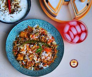 Vegetable Dum Biryani Recipe - YourFoodFantasy.com