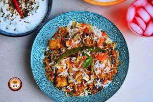 Vegetable Dum Biryani - YourFoodFantasy.com