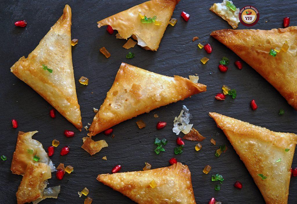 Apple Pie Samosa - Apple Recipes | Your Food Fantasy