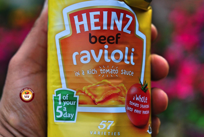 Heinz Beef Ravioli review   Your Food Fantasy