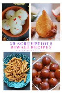 Twenty Diwali Recipes - Easy Diwali Recipes to make at home this Diwali