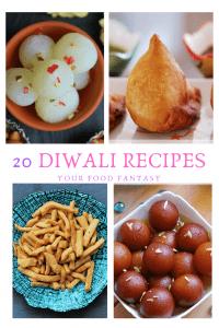 Twenty Diwali Recipes - Easy Diwali Recipes