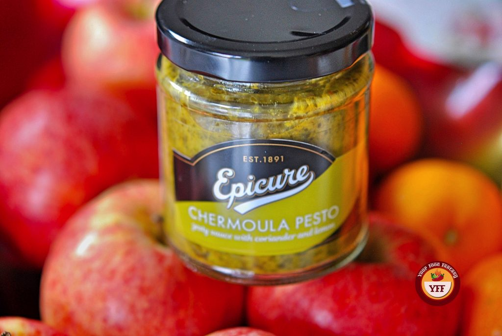 Epicure Chermoula Pesto Review   Your Food Fantasy