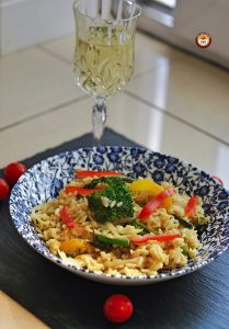 Vegetarian Risotto | Italian Food | Your Food Fantasy