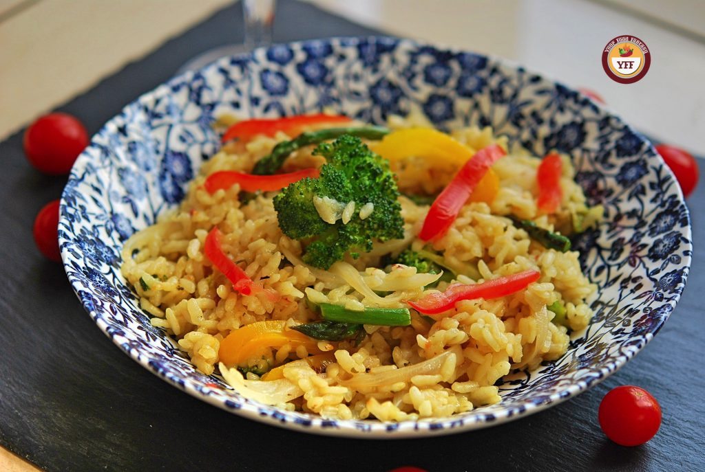 Vegetarian Risotto Recipe | Italian Food | YourFoodFantasy.com