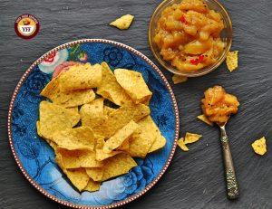 Easy to make Apple Mango Chutney Recipe - Apple Recipes | YourFoodFantasy.com