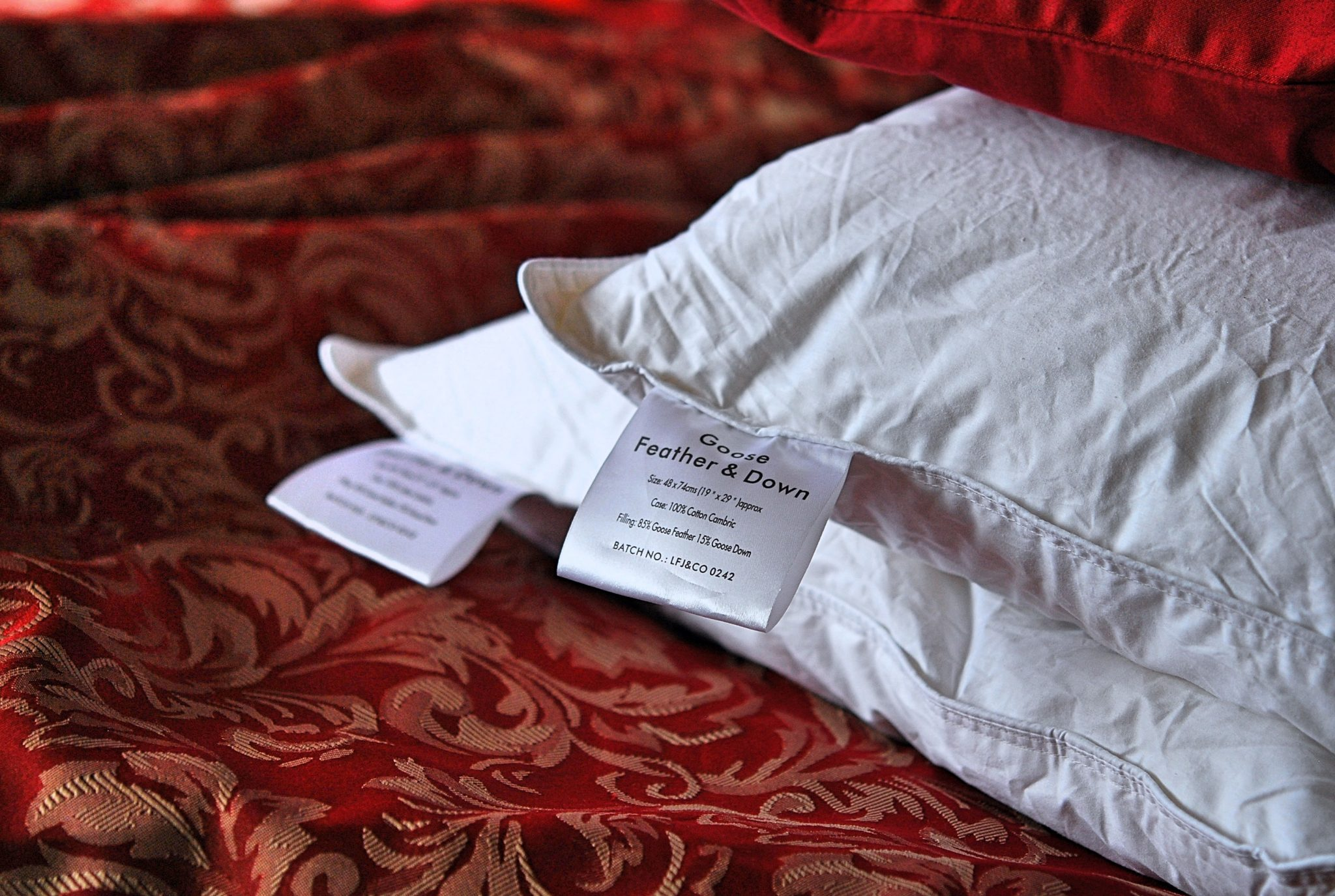 Feather Goose Down Luxury Pillow - The Towel Shop Review | Your Food Fantasy