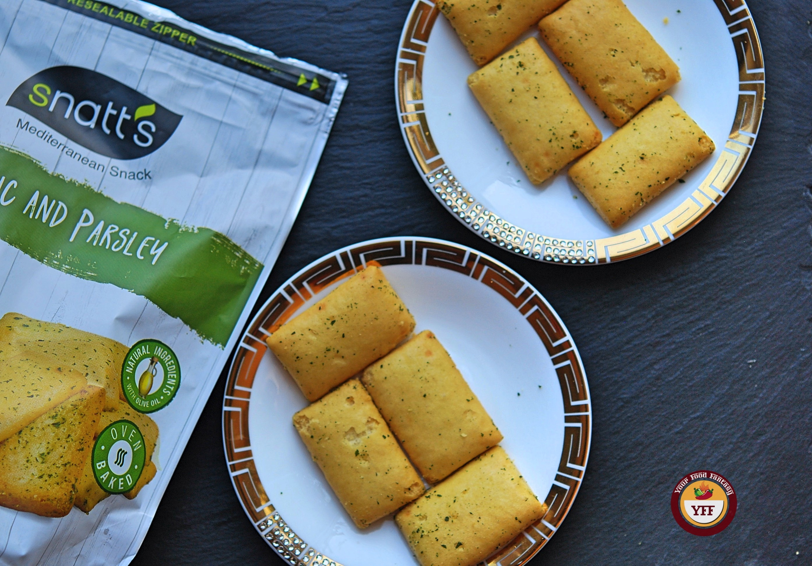 Snatts Garlic & Parsley Snacks   Review by Your Food Fantasy