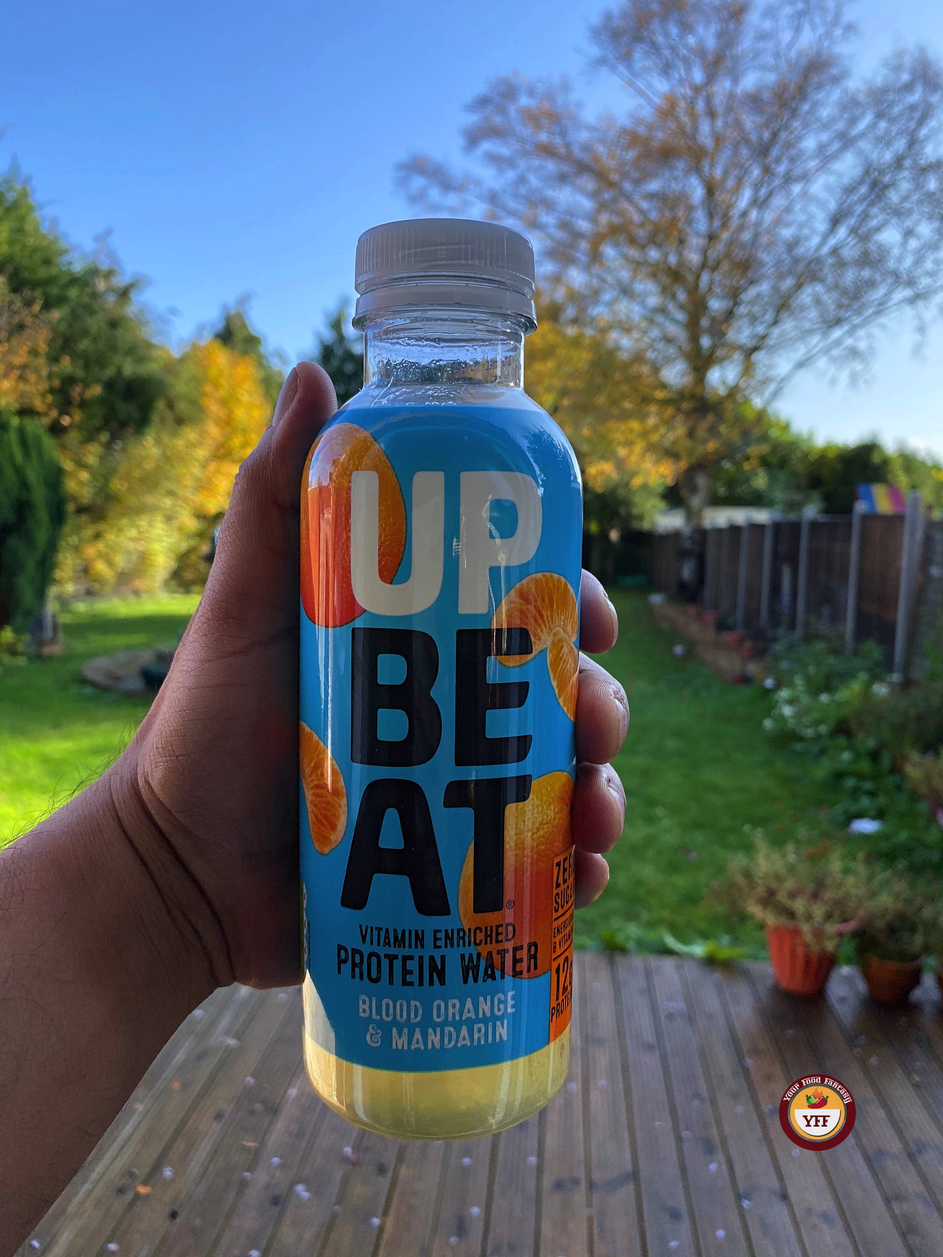 Upbeat Juicy Protein Water   Review by Your Food Fantasy