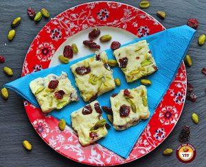 White Chocolate Cranberry Fudge Recipe   Your Food Fantasy