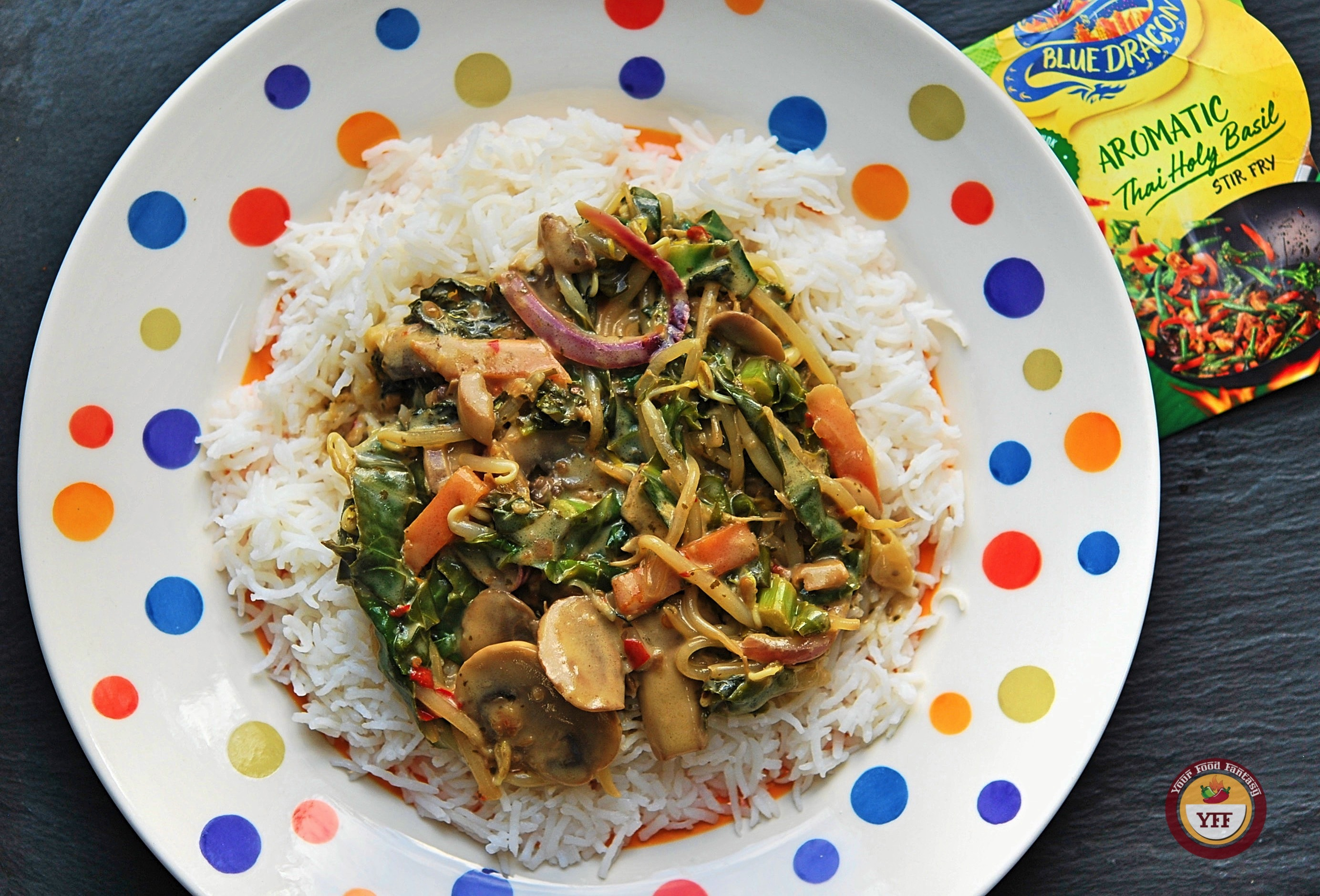 Blue Dragon Thai Basil Kit Review | Your Food Fantasy