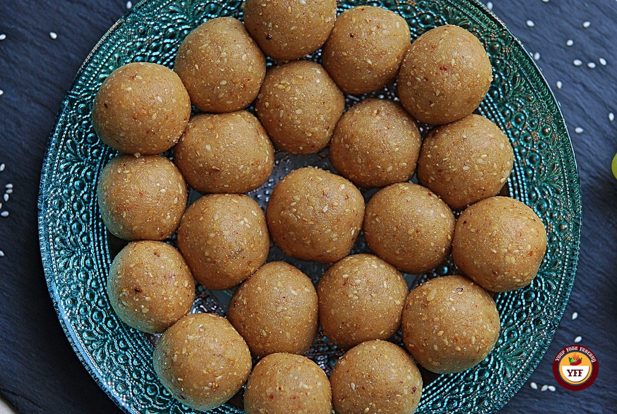 Makar Sankranti Special Til Laddo   Your Food Fantasy