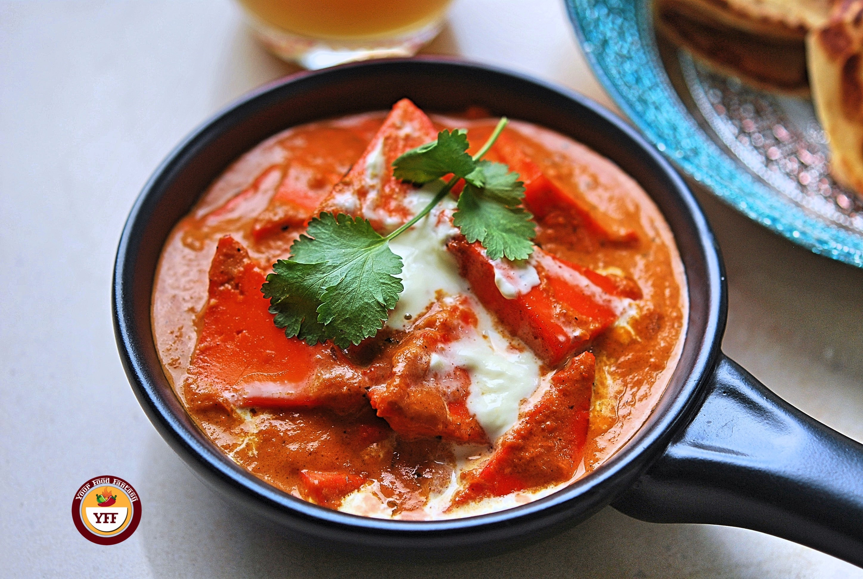 How to make Paneer Butter Masala - YourFoodFantasy.com