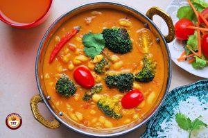 Cannellini Broccoli Vegan Curry Recipe   Your Food Fantasy