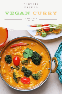 Cannellini Broccoli Vegan curry | Your Food Fantasy