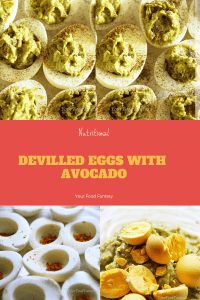 Devilled Eggs with Avocado | Your Food Fantasy