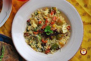 Navratan Pulao Rice Recipe   Your Food Fantasy