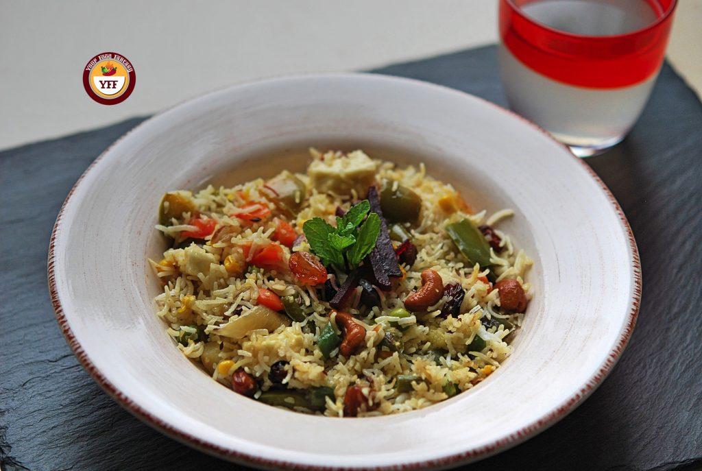 Navratan Pulao Rice | Your Food Fantasy
