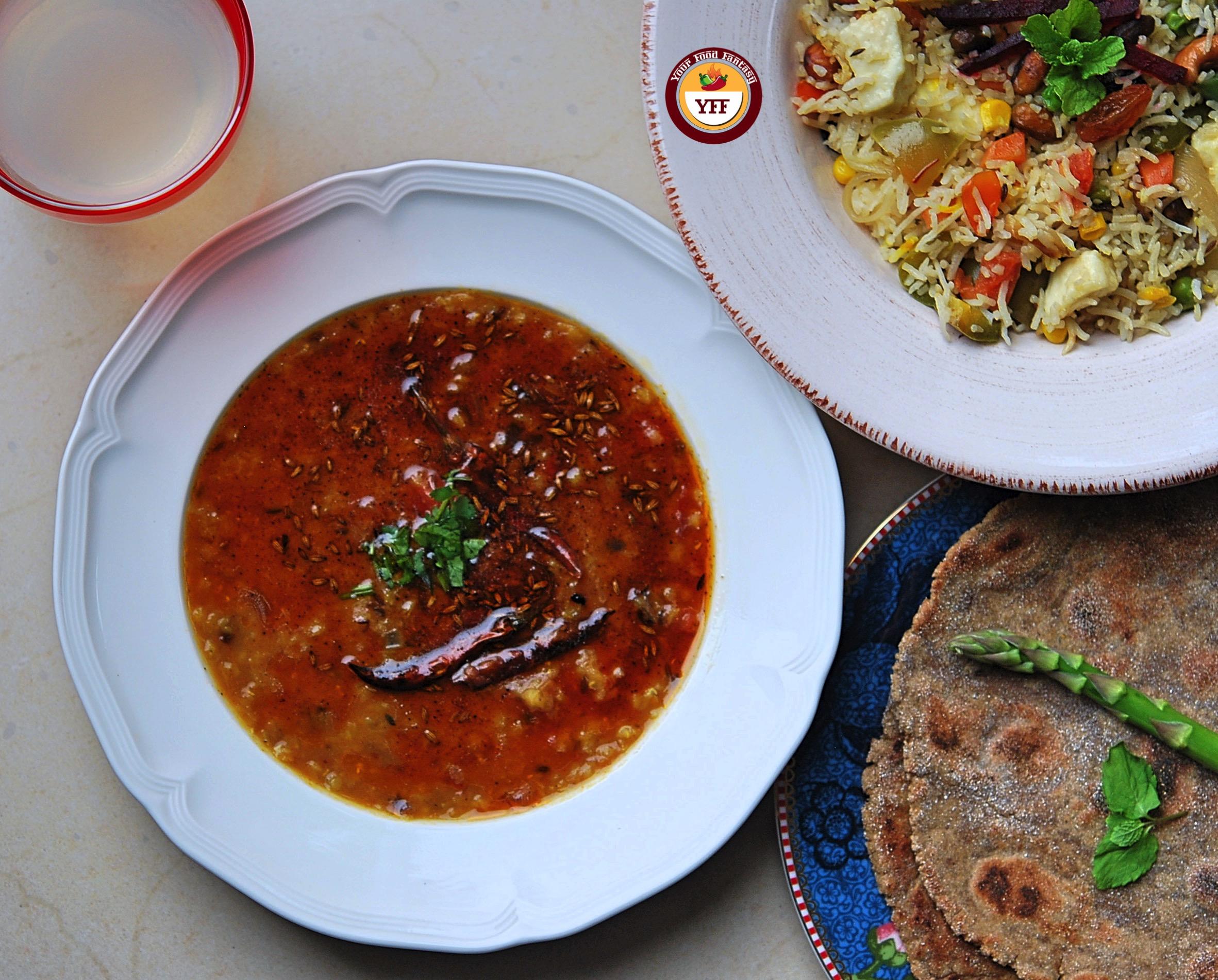 Tempered Red Lentil - Tadka Masoor Dal | Your Food Fantasy