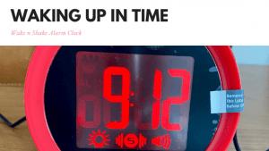 Wake n Shake Alarm Clock