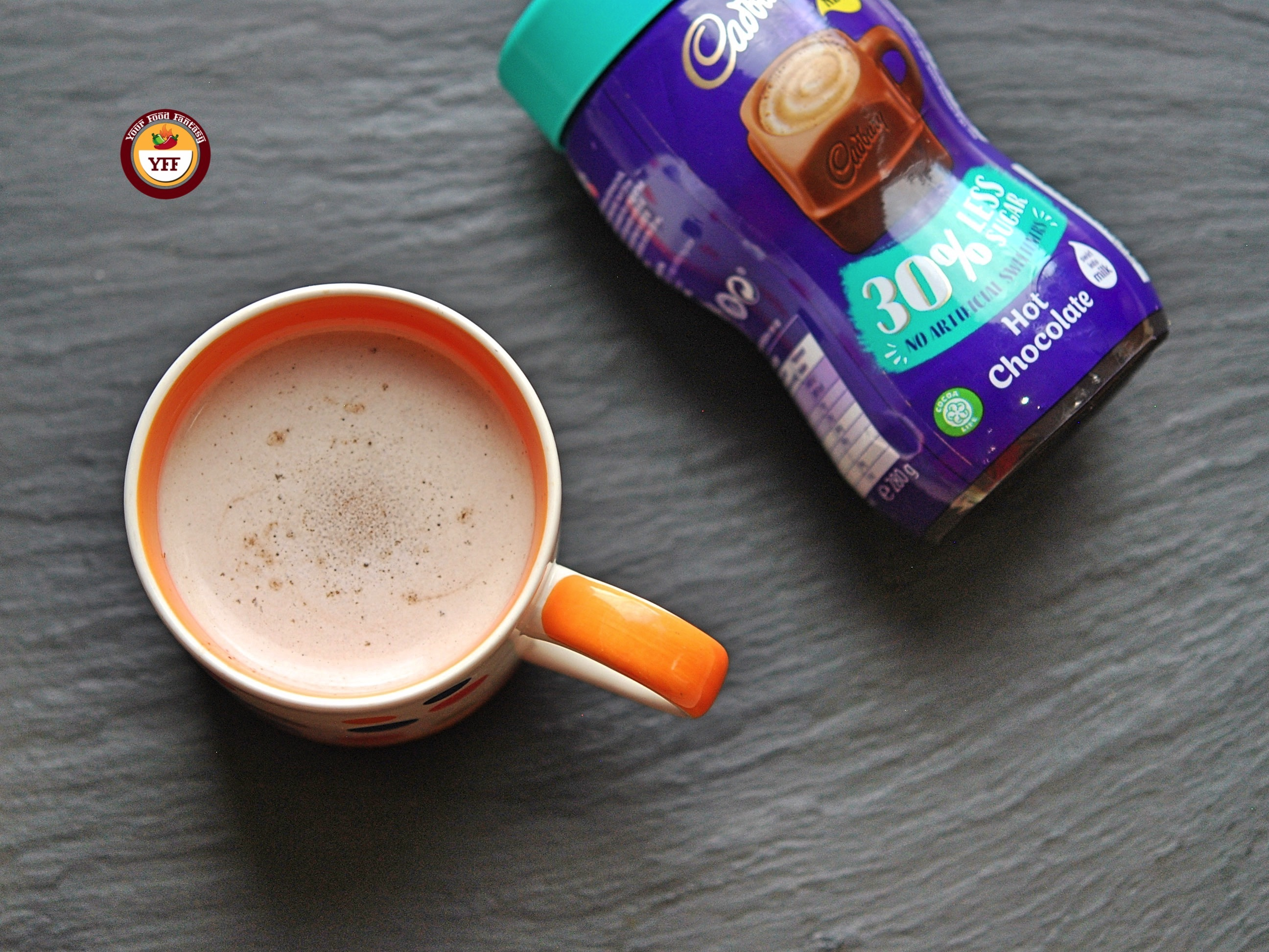 Cadbury's Hot Chocolate Review | YourFoodFantasy.com