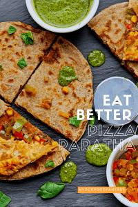 Pizza Paratha | Your Food Fantasy