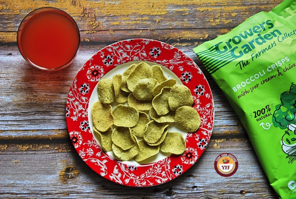 Growers Broccoli Crisps review   Your Food Fantasy