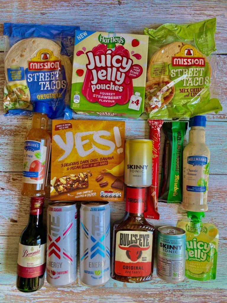 Degustabox Contents Review - What is Degusta box